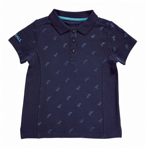 Harry Hall Barlyby Junior Polo Shirt in Navy 5-6yrs
